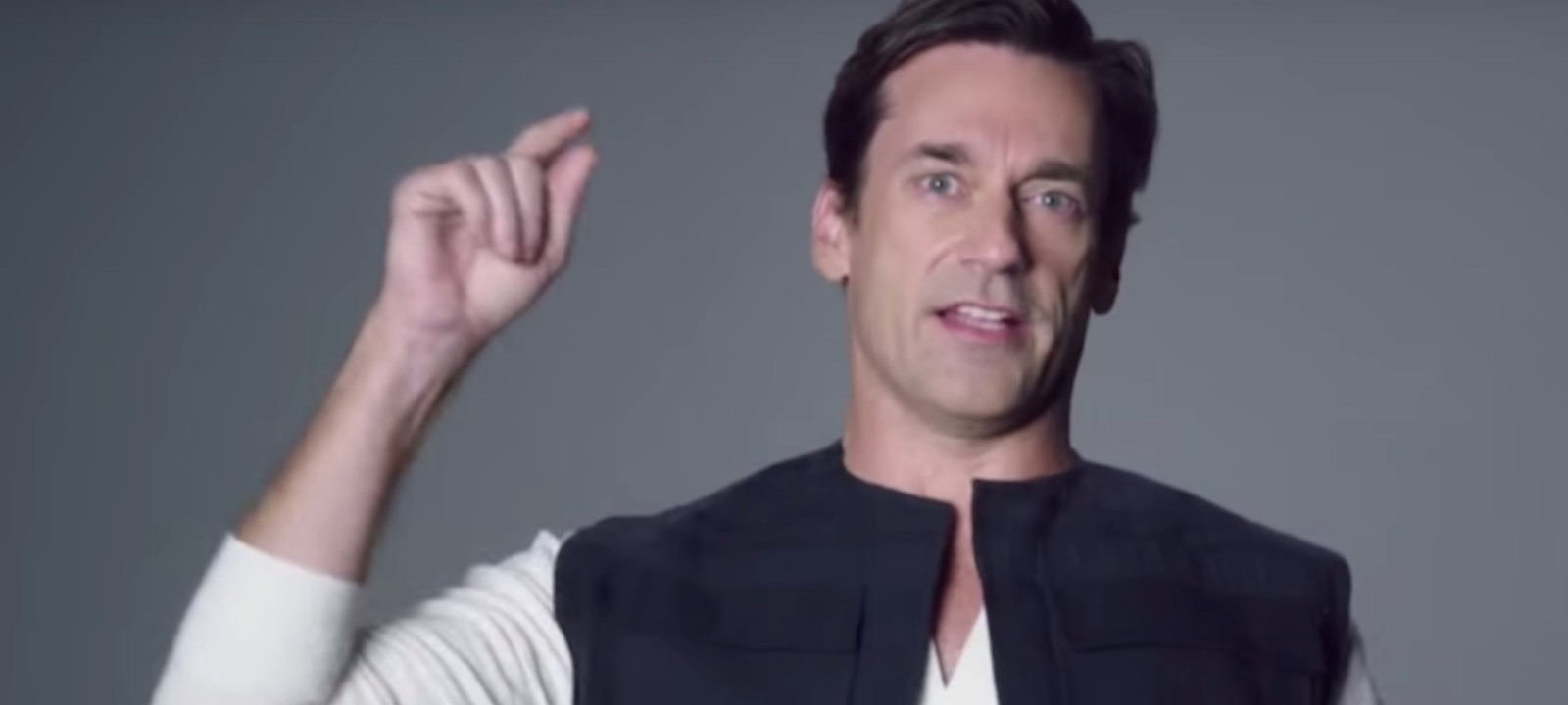 Jon Hamm as Han Solo in 'Star Wars' Audition Tapes from 'SNL'