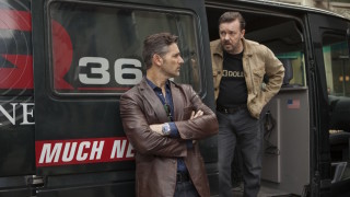Eric Bana and Ricky Gervais star in Special Correspondents.