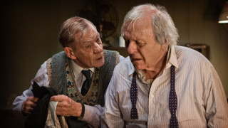 Ian McKellen and Anthony Hopkins star in The Dresser.
