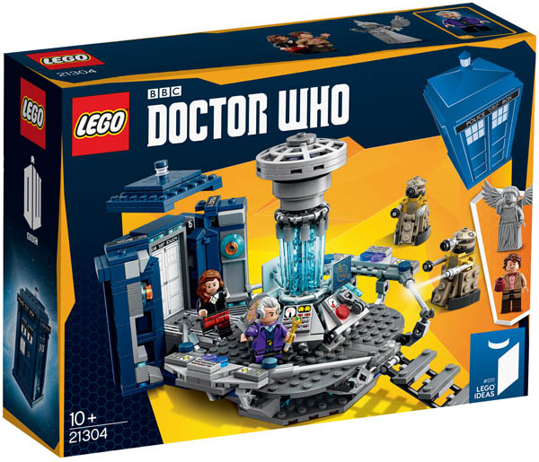 Doctor Who Lego Set.