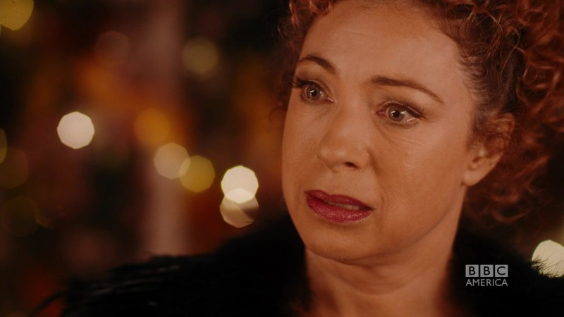 will river song meet the 12th doctor who