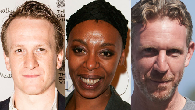 Jamie Parker, Noma Dumezweni and Paul Thornley (Photos: Miles Willis/Gareth Cattermole/Carlos Alvarez/Getty Images)