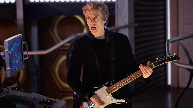 "The Doctor starts work on ""Clara, A Sad Song"" (Photo: BBC)"