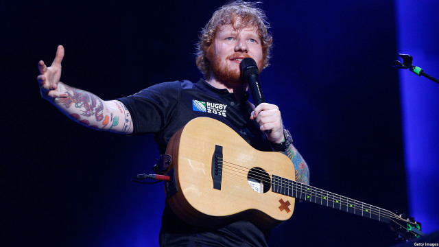 Ed Sheeran (Photo: Phil Walter/Getty Images)