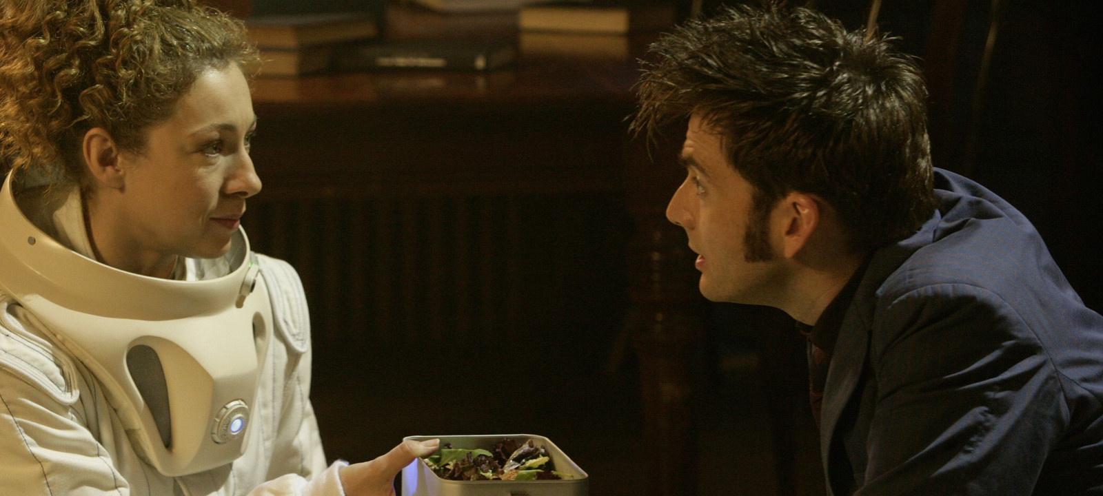 River Song and the Tenth Doctor (Photo: BBC)