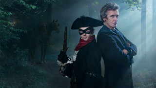 Maisie Williams and Peter Capaldi in 'Doctor Who' (Photo: BBC)