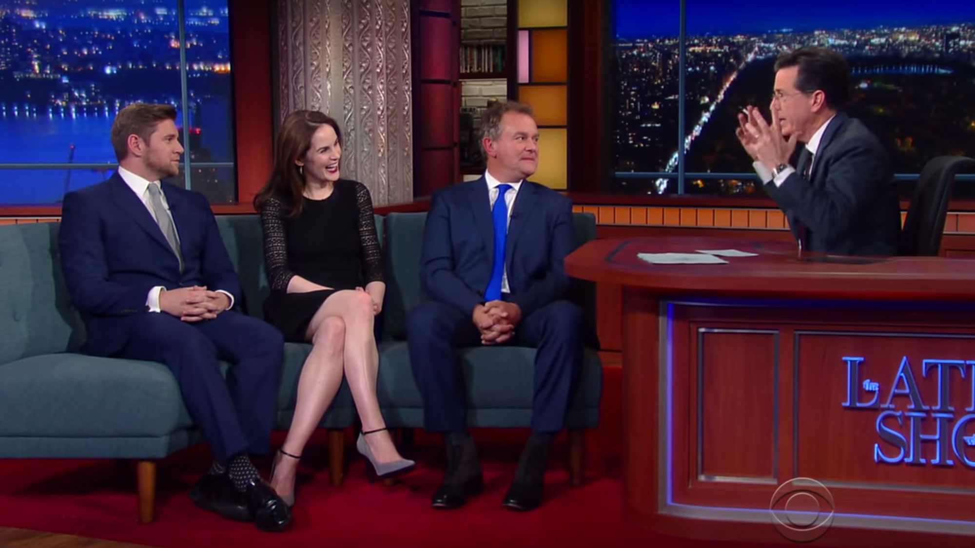 WATCH: U0027Downtonu0027 Stars Perform Scene With American Accents | Anglophenia |  BBC America