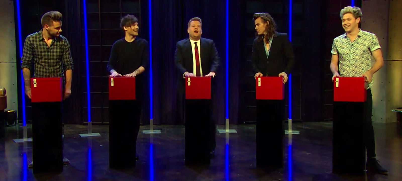 Watch One Direction Plays Tattoo Roulette On James Corden