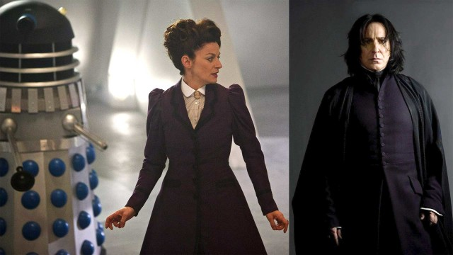 Missy meets Snape (Photo: BBC/Warner Brothers)