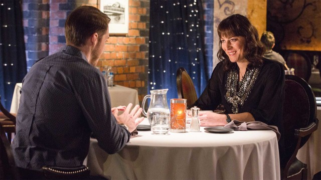 Rebecca Root in 'Boy Meets Girl' (Photo: BBC)