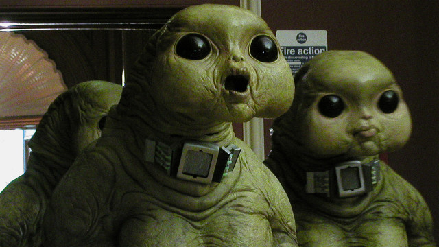 Aliens of London (Photo: BBC)