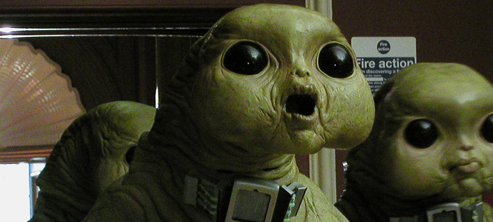 Aliens of London (Photo: BBC)