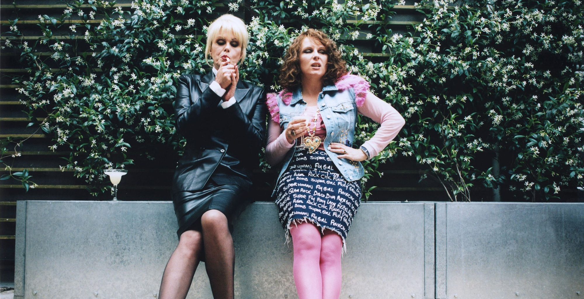 Absolutely Fabulous fashion, then and now Absolutely Fabulous fashion, then and now new foto