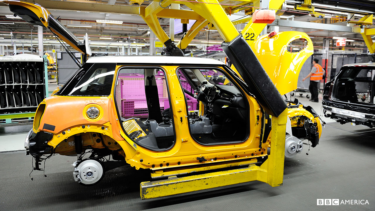 A car on a Z sling in the 'Assembly' section.