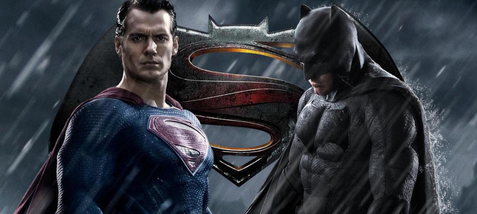 Ben Affleck and Henry Cavill star in Batman v Superman: Dawn of Justice.