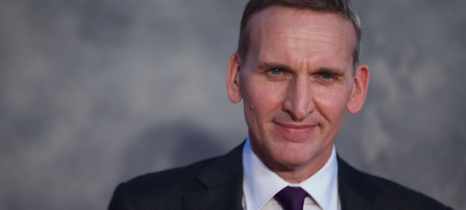 Christopher Eccleston in a film by Gerard Groves.