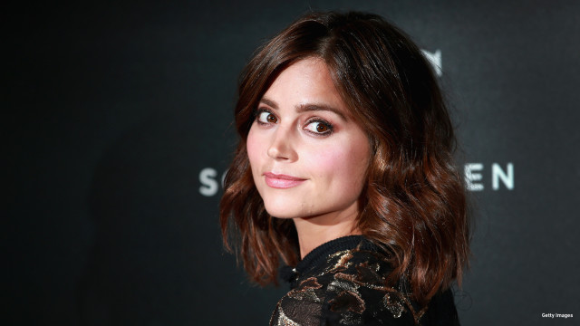 Jenna Coleman attends the BFI Luminous Fundraising Gala at The Guildhall on October 6, 2015 in London, England.