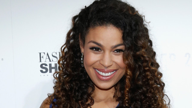 Grammy-Nominated Sony Music Recording Artist, Jordin Sparks arrives for a public performance on the runway at Fashion Show Las Vegas on August 15, 2015 in Las Vegas, Nevada.