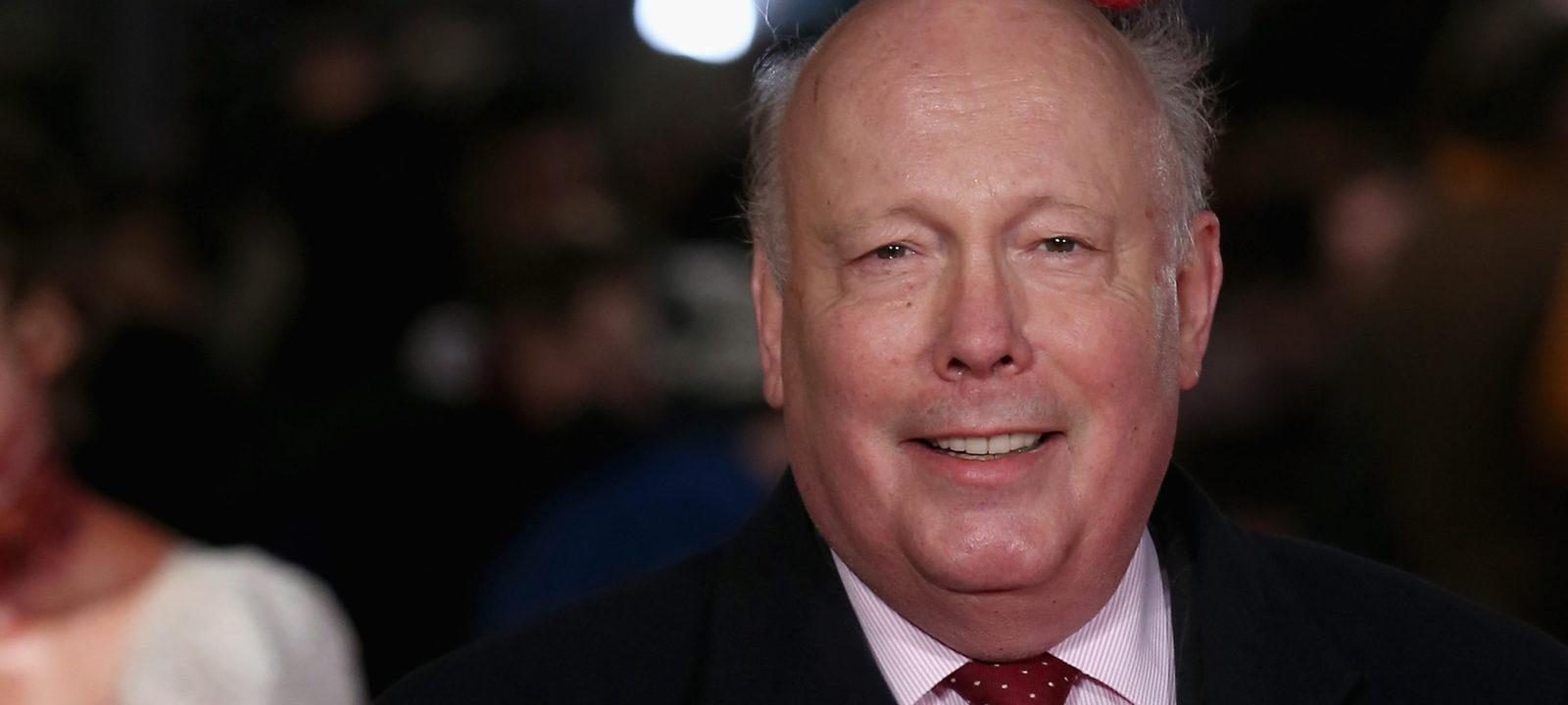 "Julian Fellowes attends the European premiere of ""Pride And Prejudice And Zombies"" at Vue West End on February 1, 2016 in London, England."