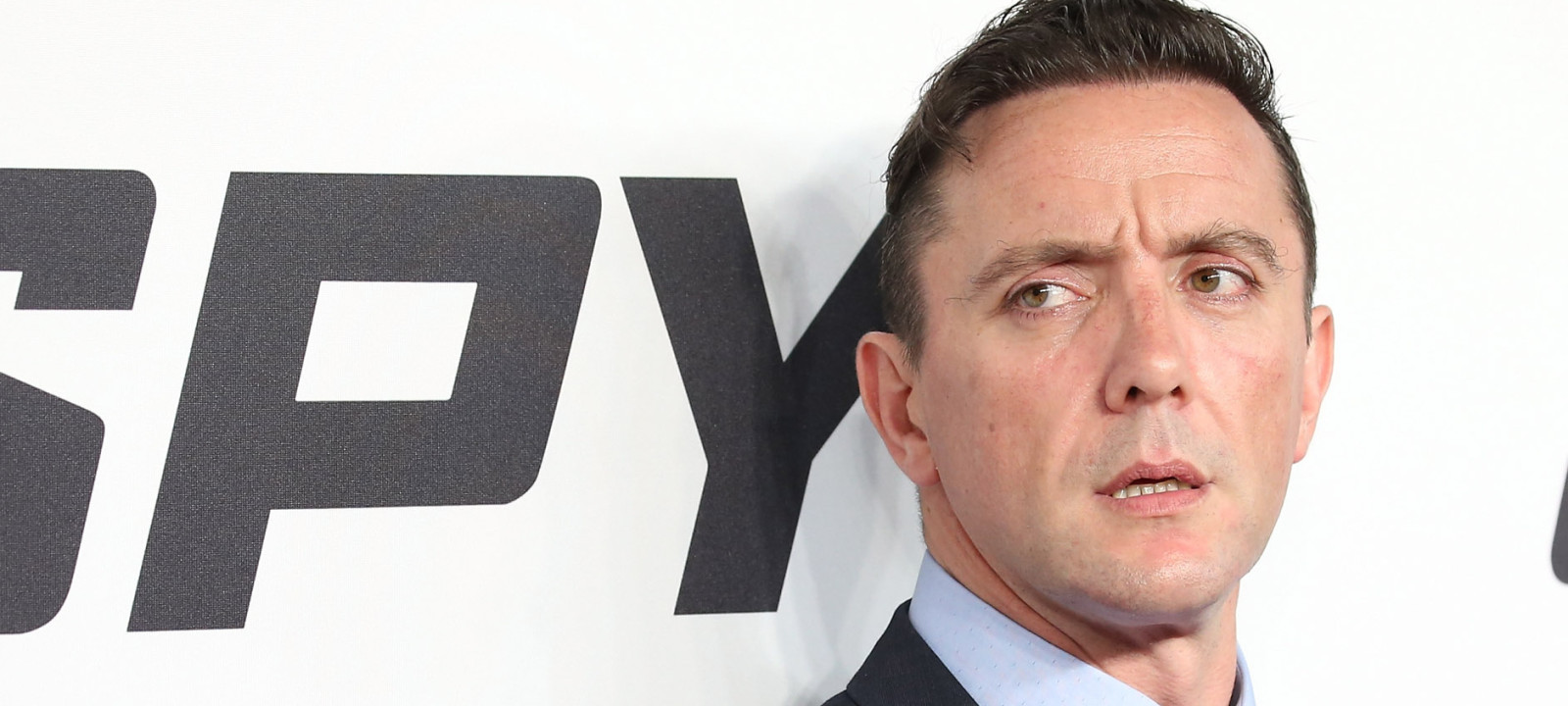 Actor Peter Serafinowicz attends the 'Spy' New York Premiere at AMC Loews Lincoln Square on June 1, 2015 in New York City.