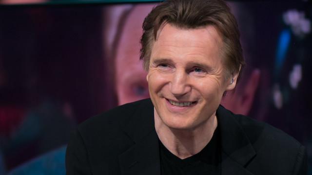 Liam Neeson Attends 'El Hormiguero' Tv Show