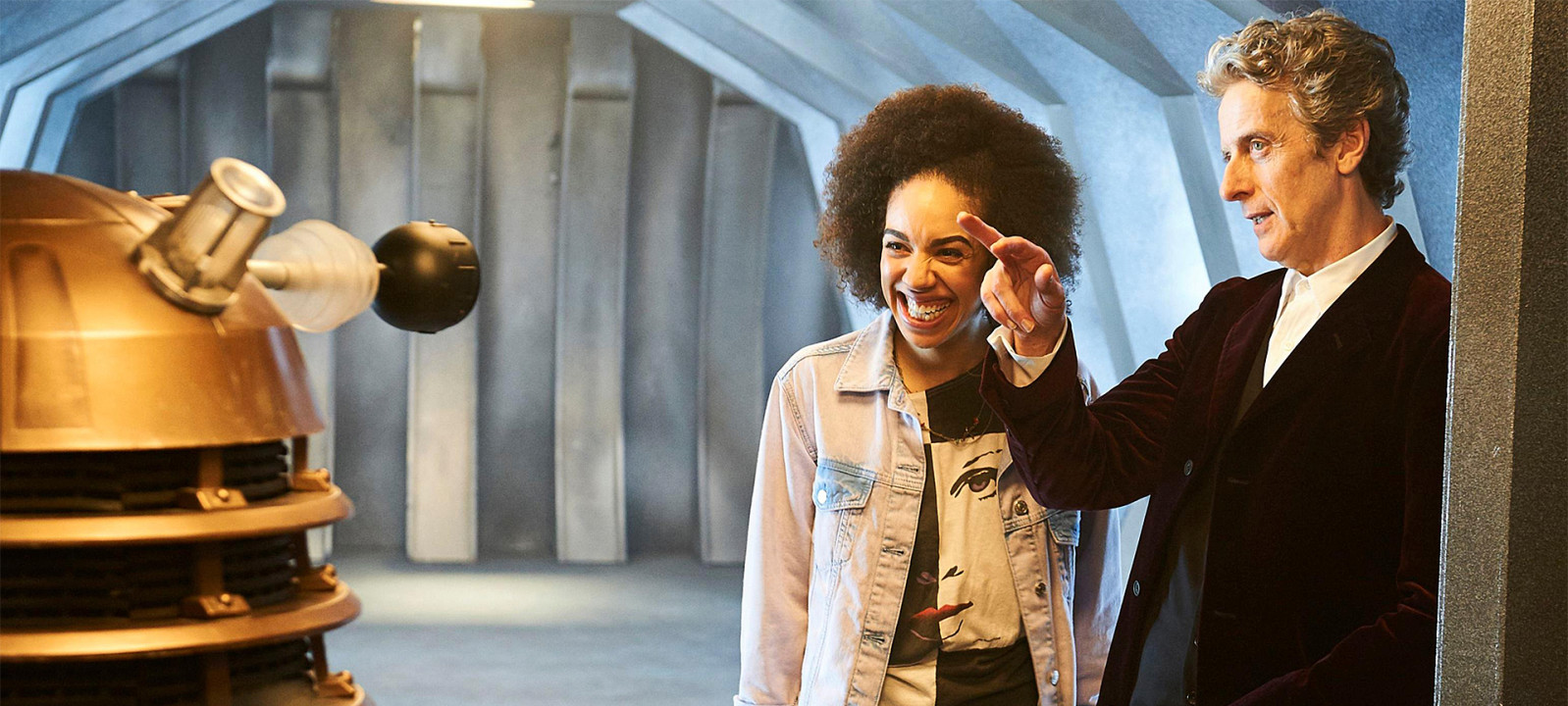Peter Capaldi and Pearl Mackie (Photo: BBC)