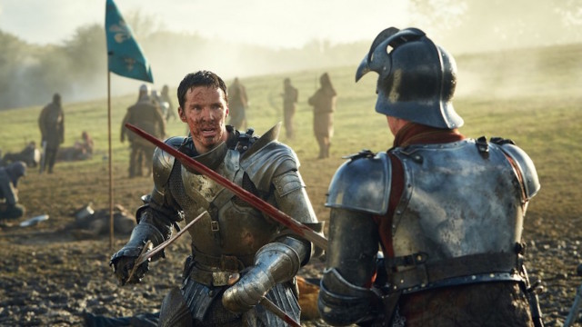 Benedict Cumberbatch as Richard III in The Hollow Crown