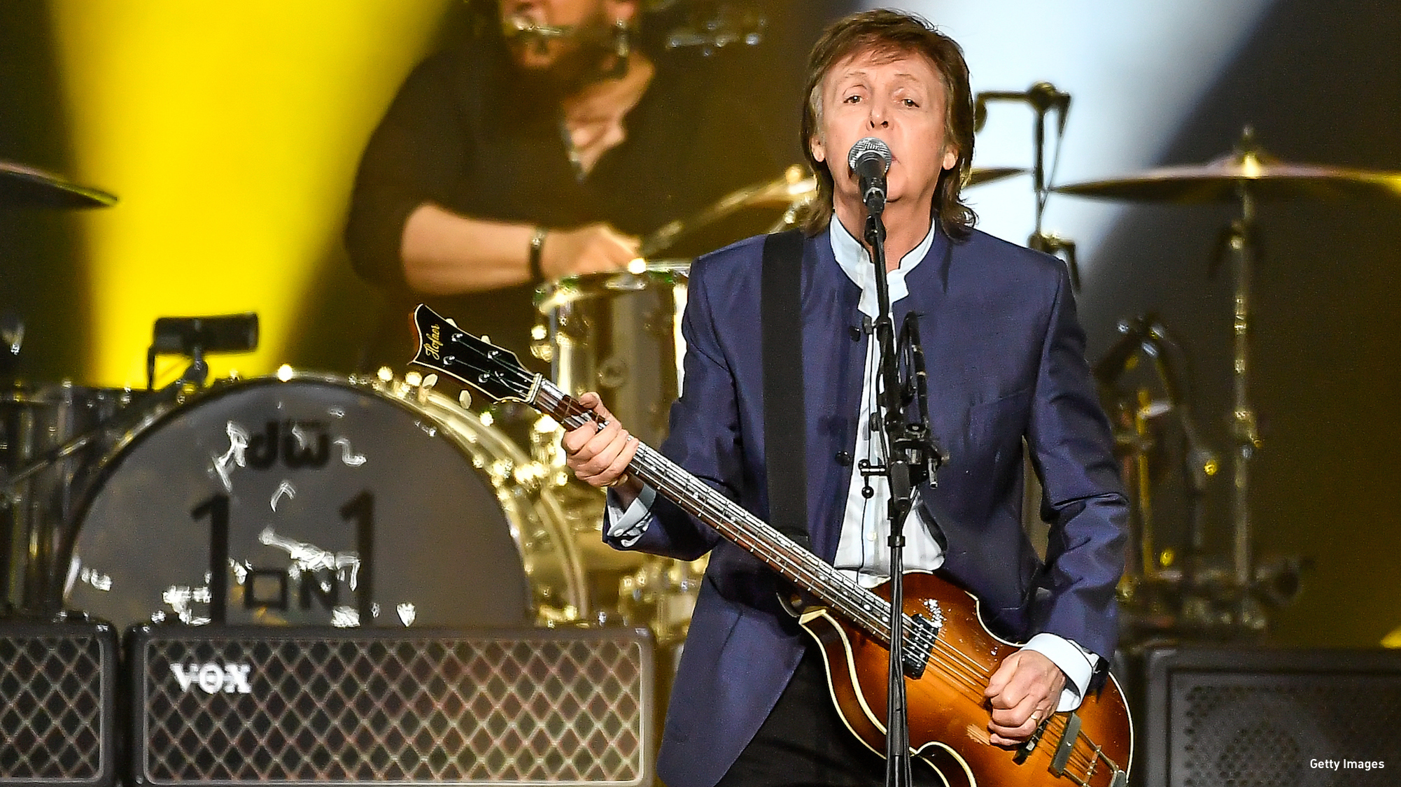 WATCH Paul McCartney Plays Beatles Classic For First Time Solo
