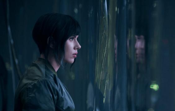 Scarlett Johansson stars as Major in 'Ghost in the Shell'