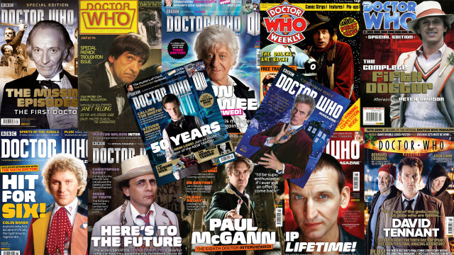 Doctor Who Magazine covers (Photos:  BBC Worldwide)