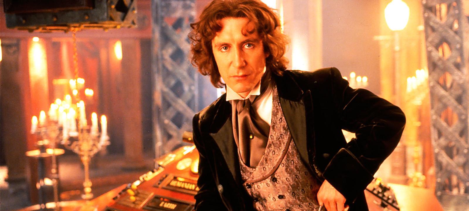 Paul McGann as the Eighth Doctor (Photo: BBC)