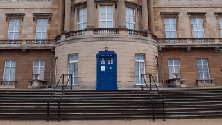The TARDIS at Buckingham Palace, 2013 (Photo: Eddie Mulholland / Getty Images)