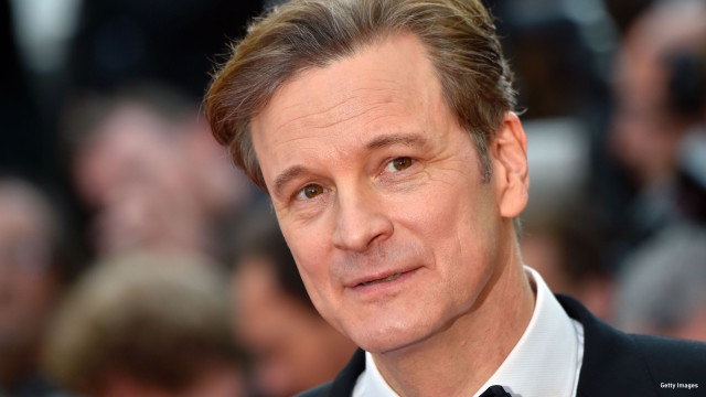 """British actor and producer Colin Firth arrives on May 16, 2016 for the screening of the film """"Loving"""" at the 69th Cannes Film Festival in Cannes, southern France."""