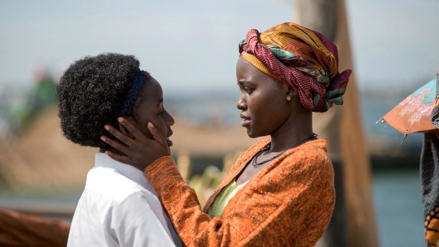Madina Nalwanga and Lupita Nyong'o in Mira Nair's 'Queen of Katwe'