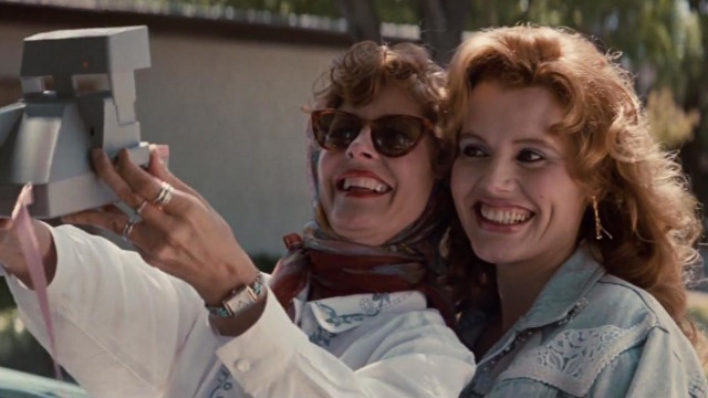 Susan Sarandon and Geena Davis in 'Thelma & Louise'