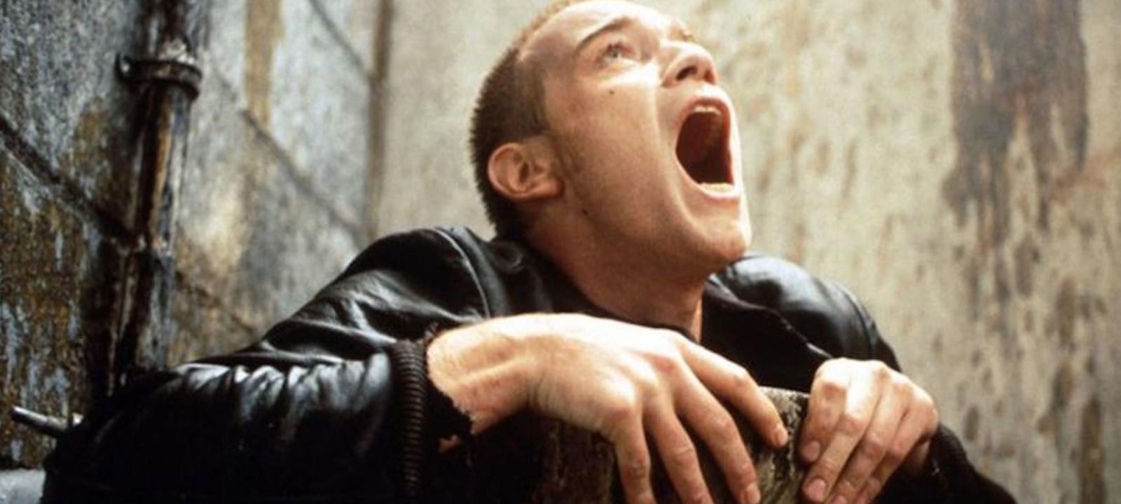 Ewan McGregor as Renton in 'Trainspotting'