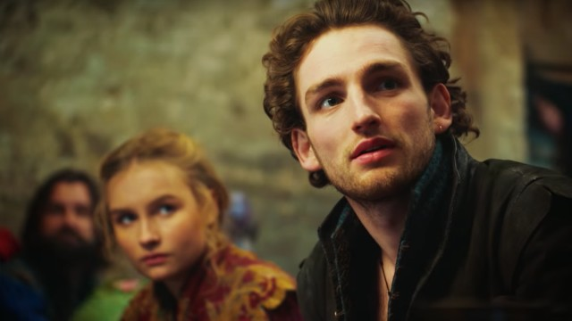 Laurie Davidson as a young William Shakespeare in TNT drama 'Will'