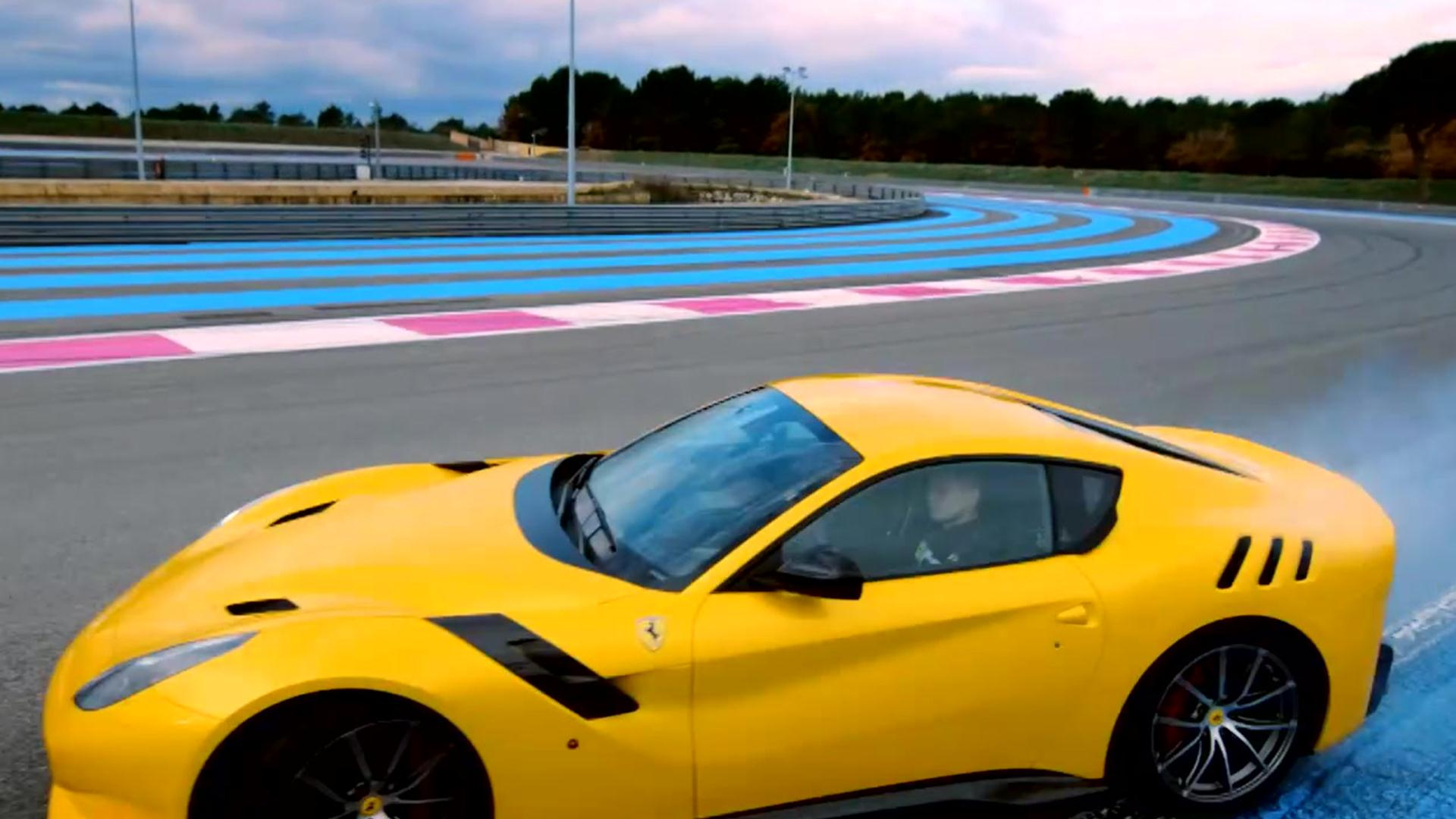 Kevin Hart Mustang >> Chris Harris Tames the Ferrari F12 TDF | Top Gear | BBC America