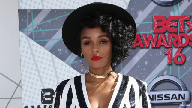 Singer Janelle Monae arrives at the BET Awards 2016. (Photo: Frederick M. Brown/Getty Images)
