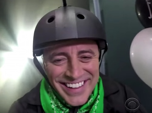 Smile, Matt! (Image: CBS/YouTube)