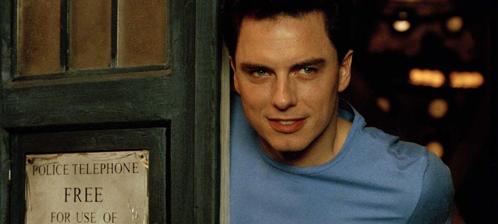 Captain Jack in the TARDIS (Photo: BBC)