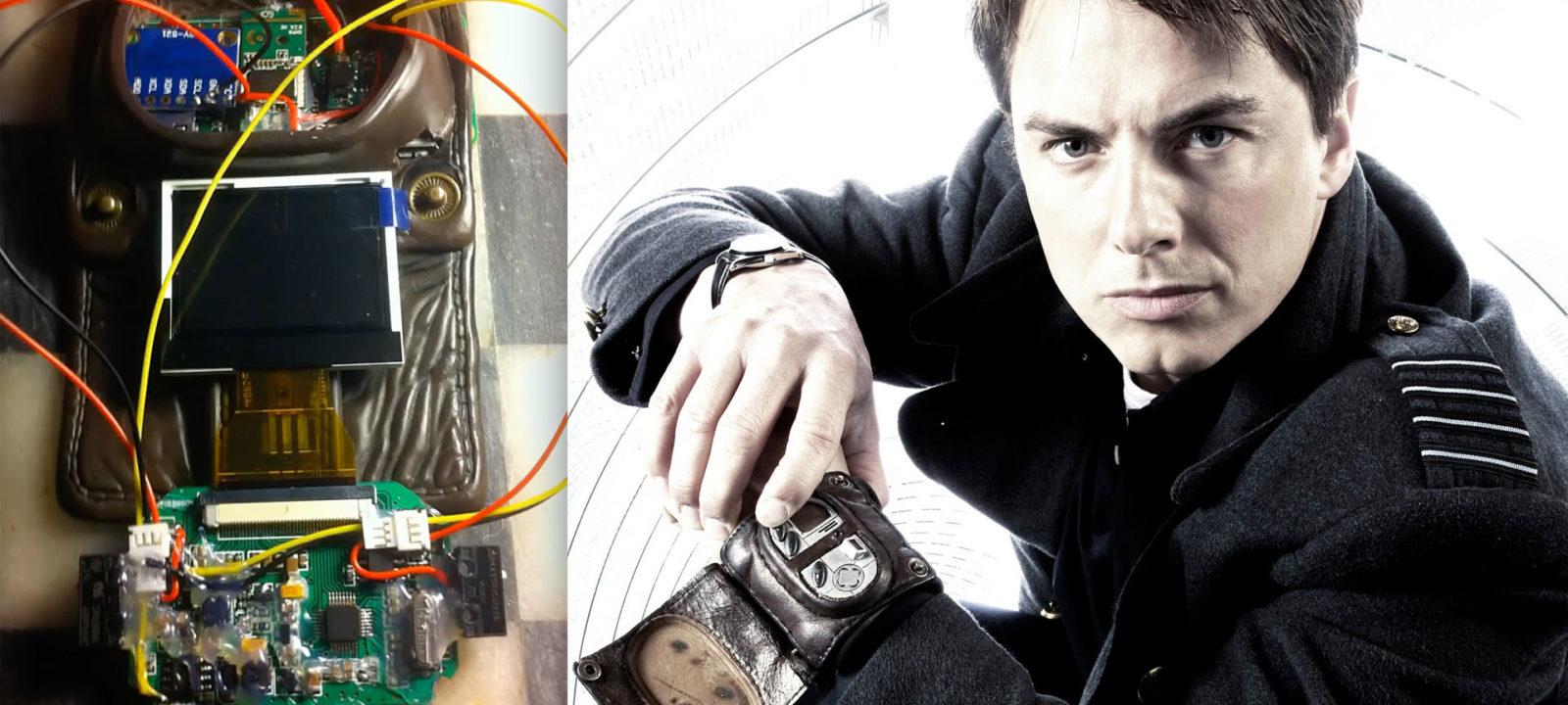 The Vortex Manipulator (Photos: YouTube/BBC)