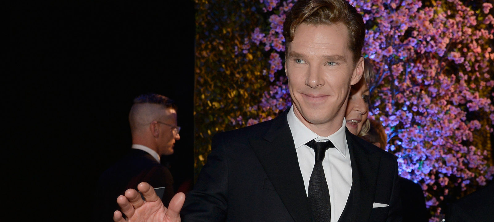 Actor Benedict Cumberbatch attends the Oscars Governors Ball at Hollywood & Highland Center on March 2, 2014 in Hollywood, California.