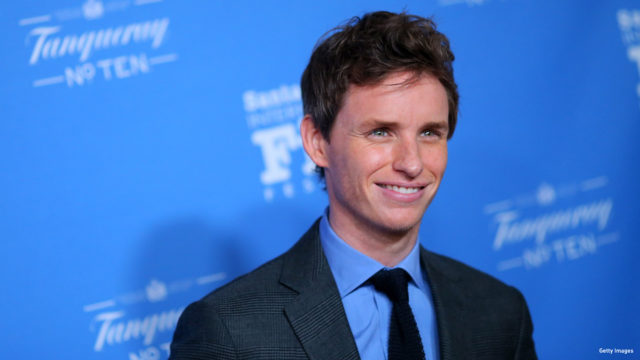Actor Eddie Redmayne attends the 30th Santa Barbara International Film Festival 'Cinema Vanguard' award for 'The Theory of Everything' at the Arlington Theater on January 29, 2015 in Santa Barbara, California.
