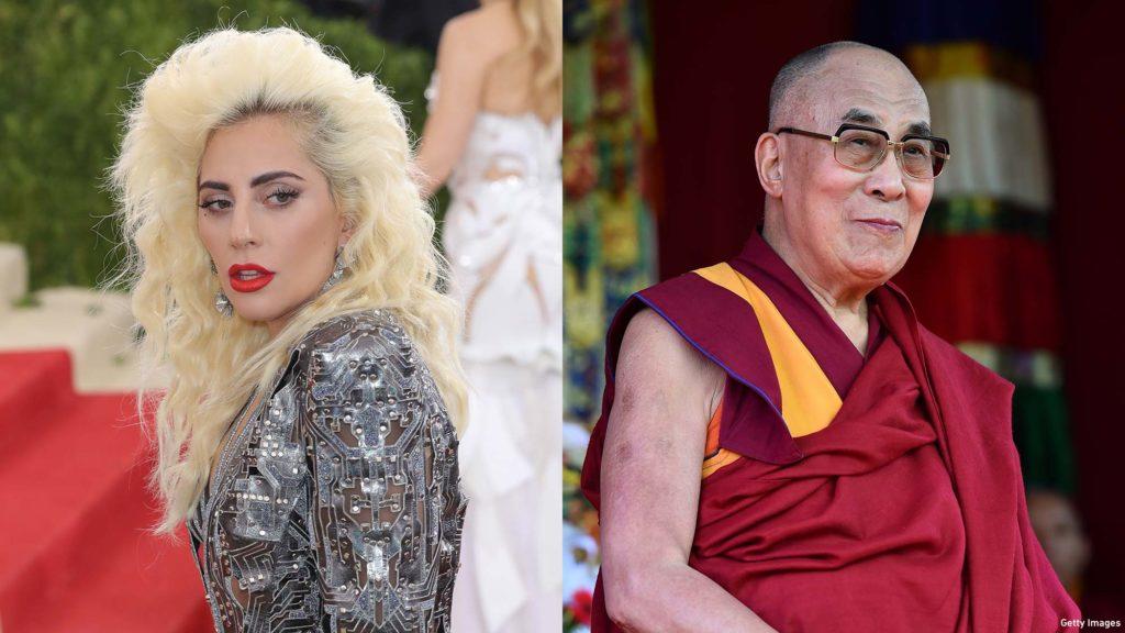 Lady Gaga interviews the Dalai Lama