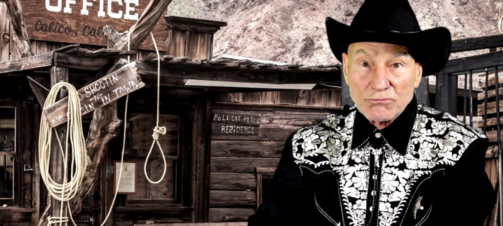 Patrick Stewart Sings Cowboy Classics