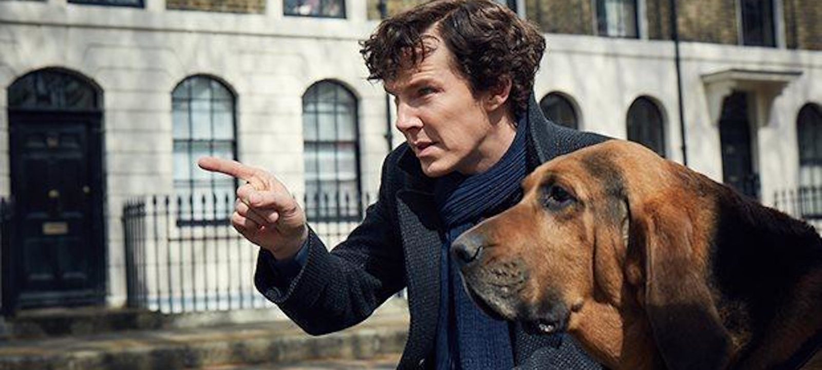 Benedict Cumberbatch in season 4 of 'Sherlock'