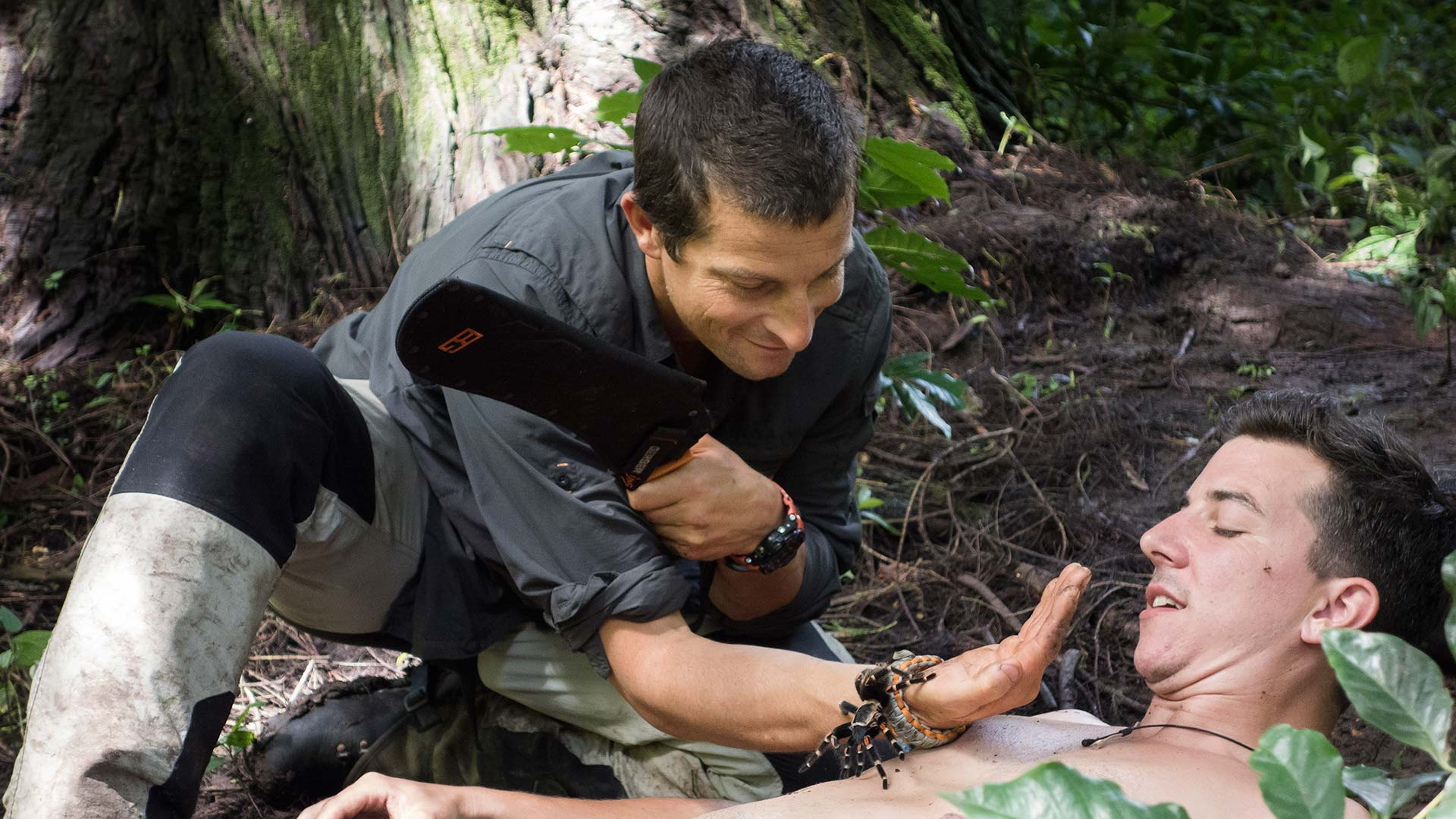 how to get on bear grylls show