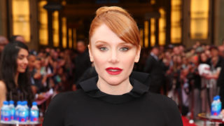 Actress Bryce Dallas Howard attends the 44th AFI Life Achievement Award Gala Tribute honoring John Williams in partnership with FIJI Water at Dolby Theatre on June 9, 2016 in Los Angeles, California.