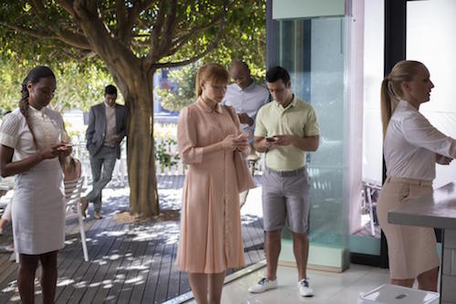 "Bryce Dallas Howard in ""Nosedive"". (Image: Netflix)"